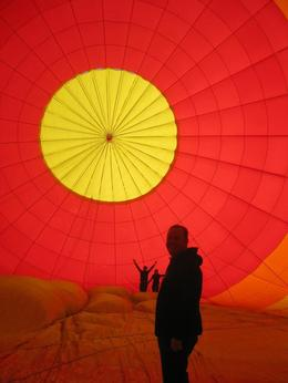 Photo of Las Vegas Las Vegas Sunrise Hot Air Balloon Ride Inside the balloon