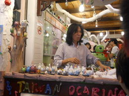 This man makes ocarinas by hand at very good prices. , Kristina H - December 2012