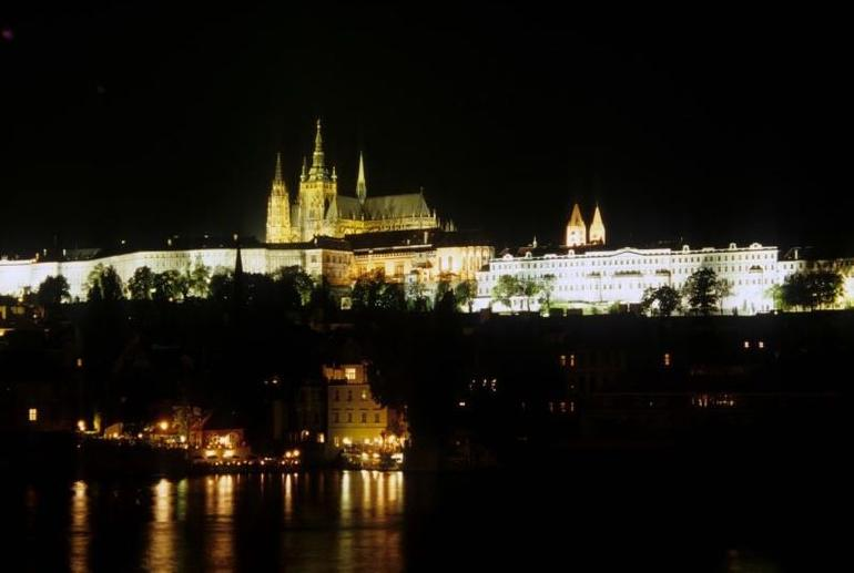 Prague Castle at Night - Prague