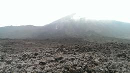 Photo of Guatemala City Pacaya Volcano Day Trip from Guatemala City Solid lava flow