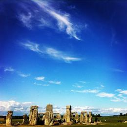 Stonehenge on a beautiful day, Ryan & Asha - April 2013