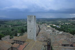 Breathtaking views from the towers of San Gimignano , Liblou - August 2013