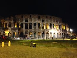 Touring Rome on a self-guided tour by night. , Laurie S - October 2013