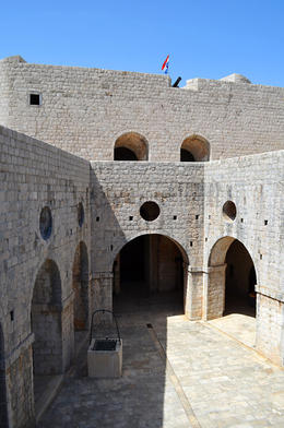 Scene of Joffrey's Tourney, Game of Thrones Tour, Dubrovnik - June 2013