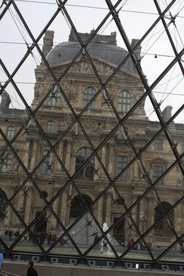 Photo of Paris Skip the Line: Louvre Museum Walking Tour including Venus de Milo and Mona Lisa View from inside the Louvre