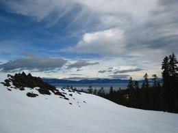 Photo of Lake Tahoe South Lake Tahoe Snowshoe Rental View of Lake Tahoe