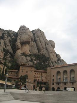 Photo of Barcelona Montserrat and Cava Trail Small Group Day Trip from Barcelona View of Monastery at Montserrat