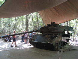 Photo of Ho Chi Minh City Cu Chi Tunnels Small Group Adventure Tour from Ho Chi Minh City American Tank