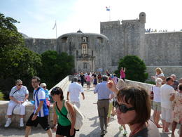 Photo of Dubrovnik Dubrovnik Shore Excursion: Private Tour of Dubrovnik and Cavtat Entering Old Walled City