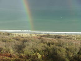A rainbow straight from the Beaches of Normandy.. Priceless. , Tara K - December 2011