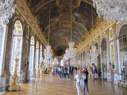 The most famous room at Versailles is the Hall of Mirrors., Karen D - June 2010