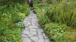 Capturing the interesting path to Beatrix Potter's Hill Top Studio Cottage , Marie F W - August 2011