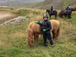 Horse Riding in Iceland , Asma O - August 2014