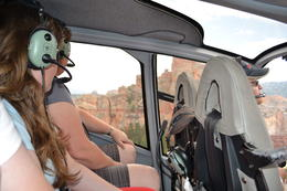 Photo of Grand Canyon National Park 45-minute Helicopter Flight Over the Grand Canyon from Tusayan, Arizona In the helicopter