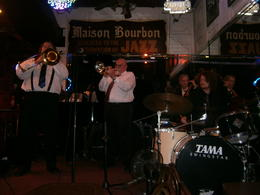 Photo of New Orleans New Orleans Big Easy Jazz Tour Jazz band at Maison Bourbon