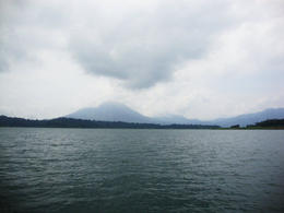 Lake Arenal With Volcano, Pauli - April 2012