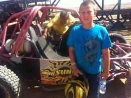 Photo of Las Vegas Nellis Dune Buggy Tour My Son with the Buggy
