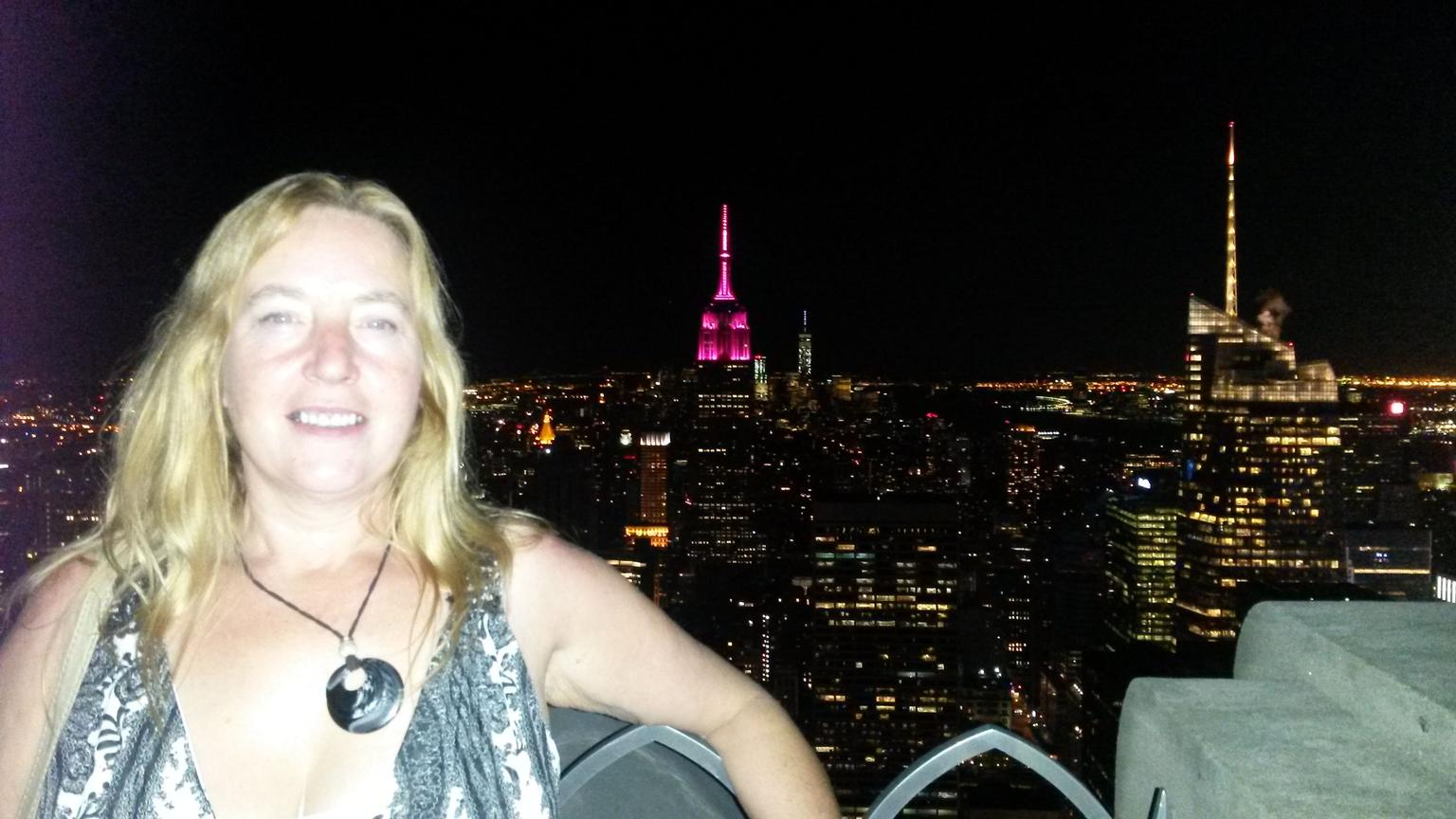 Night view from Top of the Rock