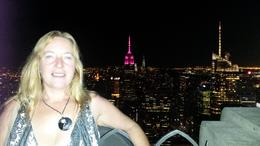 Photo of New York City NYC Central Park Bike Rental Night view from Top of the Rock