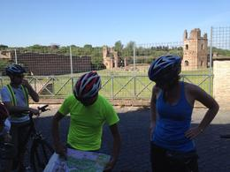 Photo of Rome Ancient Appian Way, Catacombs and Roman Countryside Bike Tour Our great guide