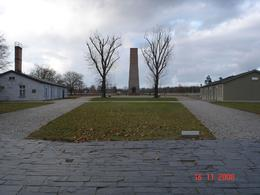The Russian Memorial at Sachsenhausen. - November 2008