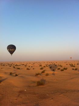 Dubai hot air balloon , Jacqueline T - April 2013
