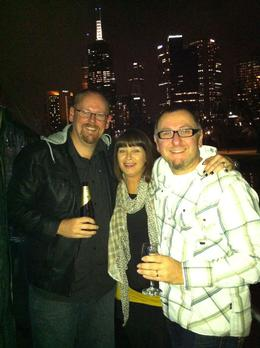 Photo of Melbourne Spirit of Melbourne Dinner Cruise Enjoying a drink on the Spirit of Melbourne Dinner Cruise