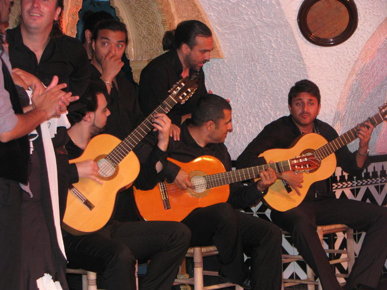 Flamenco guitarists - Barcelona