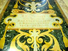 Photo of Rome Skip the Line: Vatican Museums Walking Tour including Sistine Chapel, Raphael's Rooms and St Peter's Floor tiles in the Vatican Museum