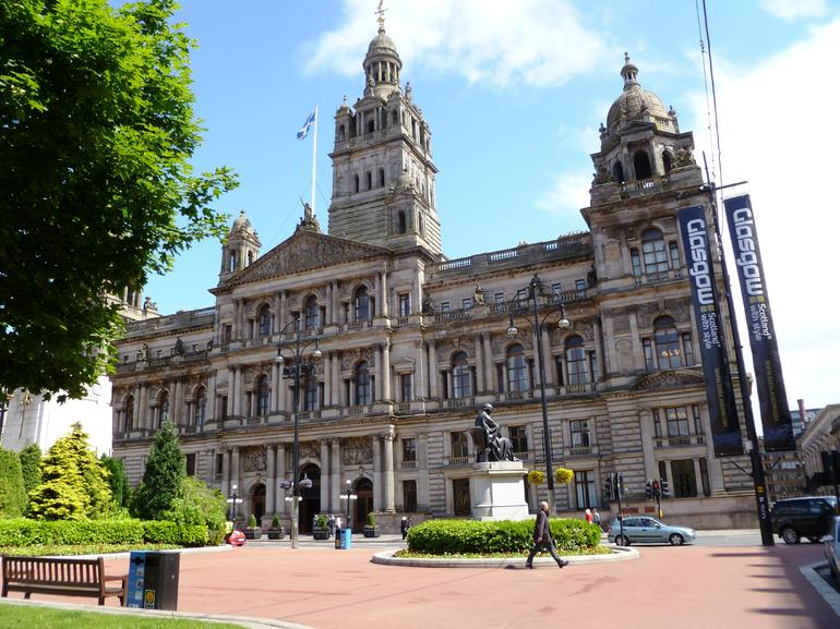 Glasgow, City Chambers, George Square - Glasgow