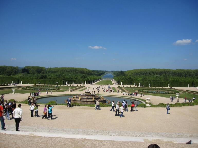 Grounds of Versailles - Paris