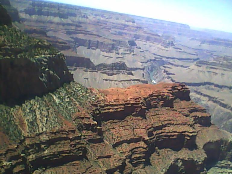 Looking down - Way down! - Grand Canyon National Park