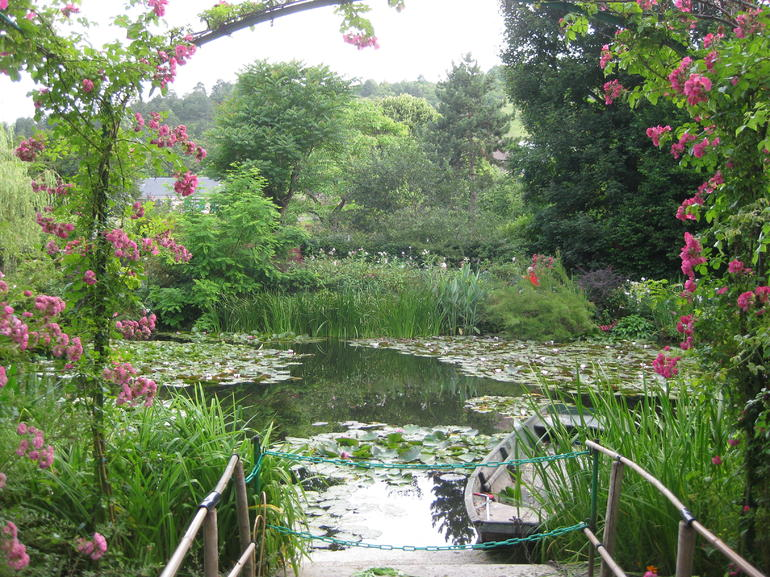 Monet's garden, Giverny 18 July 2012 - Paris