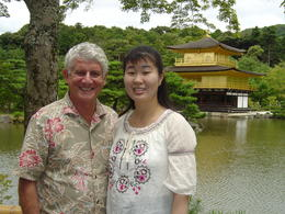 David and Noriyo. Kyoto is our favorite city in Japan. We visit Kinkakuji every time we return to Noriyo's home town in Japan. and quot;You haven't seen Japan until you visit Kyoto. and quot; ... , David S - July 2013