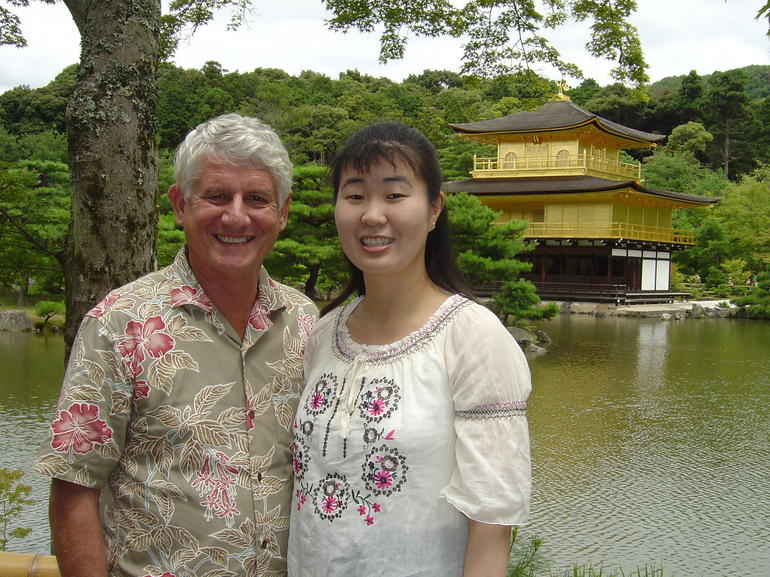 David and Noriyo.Kyoto is our favorite city in Japan. We visit Kinkakuji every time we return to Noriyo's home town in Japan. and quot;You haven't seen Japan until you visit Kyoto. and quot; Always take a Viator tour, and you will save time and money. Then. return on your own for more adventures.