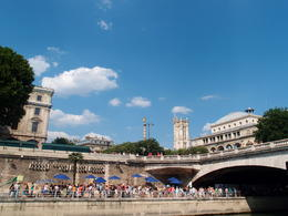 Photo of Paris Seine River Cruise and Paris Canals Tour Place du Chatelet