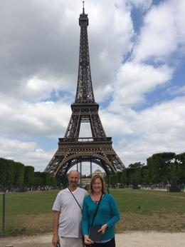 Photo of Paris Skip the Line: Eiffel Tower Tickets and Small-Group Tour Posing before the iron lady!