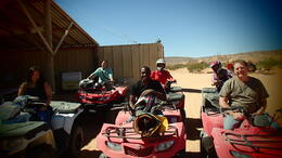 Photo of Las Vegas ATV Off-Road Desert Adventure The group that went out
