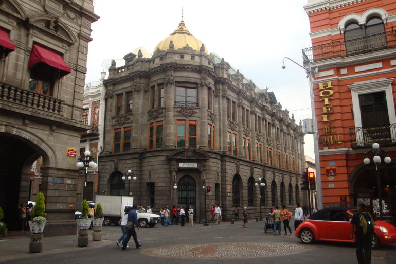 The State's Government Palace. - Mexico City