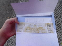My tickets and the envelope. , Ceej - July 2014
