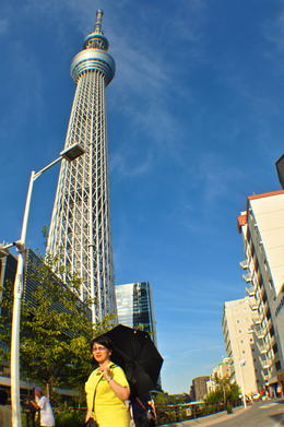 Photo of Tokyo Tokyo Skytree, Asakusa and Central Tokyo Sightseeing Tour Tokyo Sky Tree with my Wife