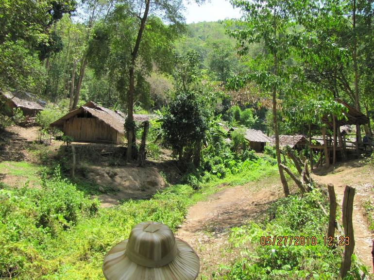 Trekking through the jungle to a village - Chiang Mai