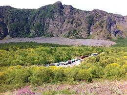 On the Slopes of Mt Vesuvius, Looking into the Ancient Caldera , Jon J - July 2012