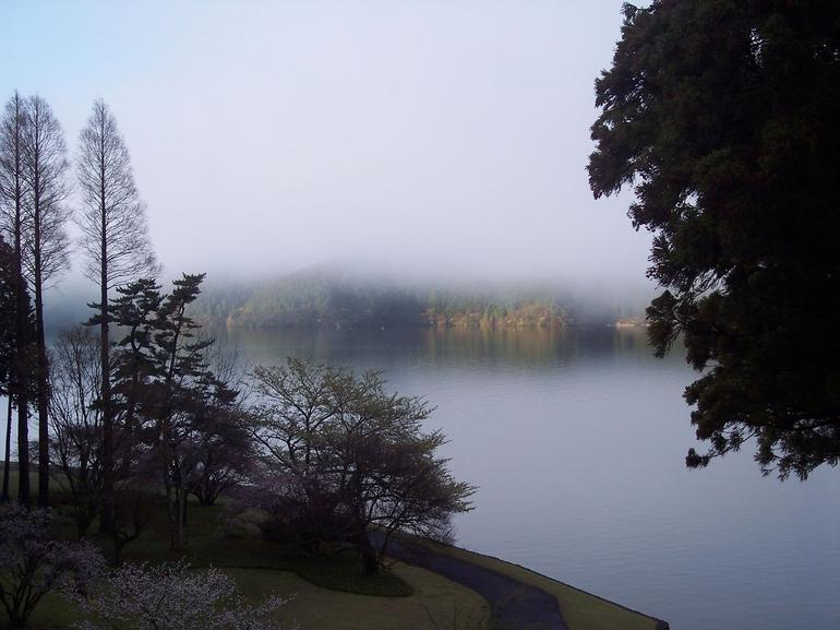 View from Hakone Prince Hotel - Tokyo