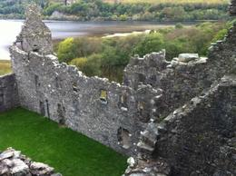 We were able to climb to the top of the ruins of Kilchurn Castle, which would have been an island when it rained hard enough. The view is breathtaking! , Madeline G - November 2013
