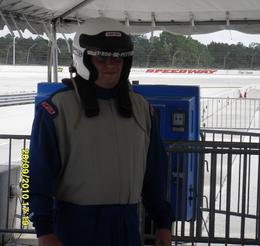 Photo of Orlando Race Car Ride-Along Program at Walt Disney World Speedway Orlando Almost there