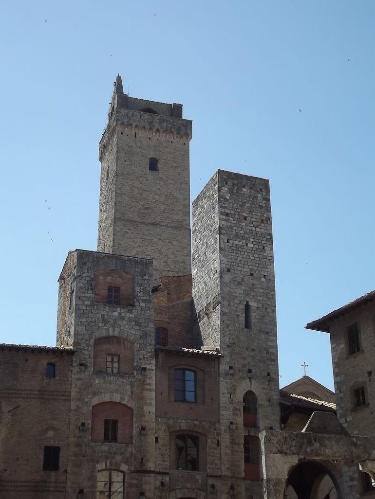 Beautiful towers of San Gimignano - Florence