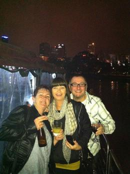 Margie, Vicki and Silvio , Ian F - June 2012