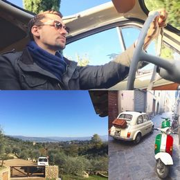 Just a little montage taken by my wife the passenger on our Fiat tour with our tour guide Angel. Super fun. , James E - November 2015