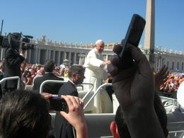 Photo of Rome Papal Audience Ticket at Vatican City le pape